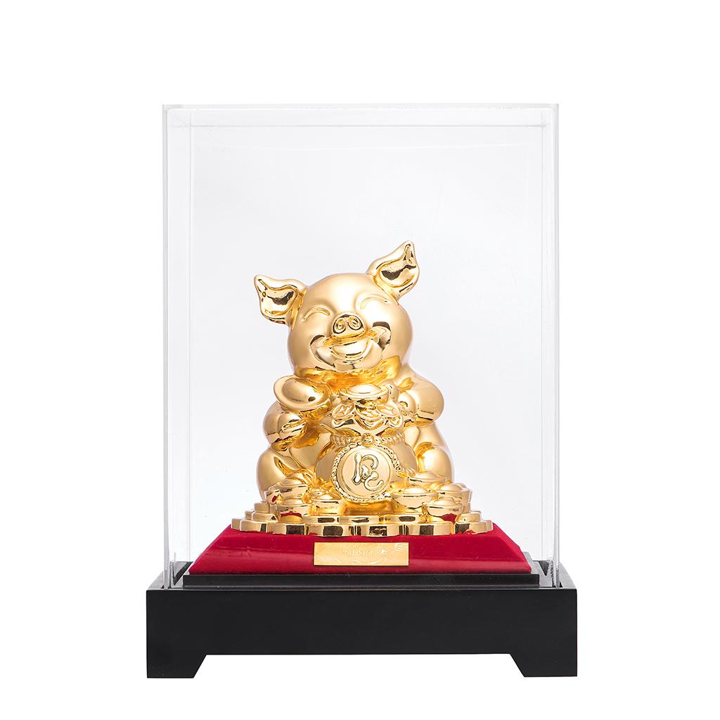 Tượng Heo Vàng Tài Lộc PNJ Art K060083