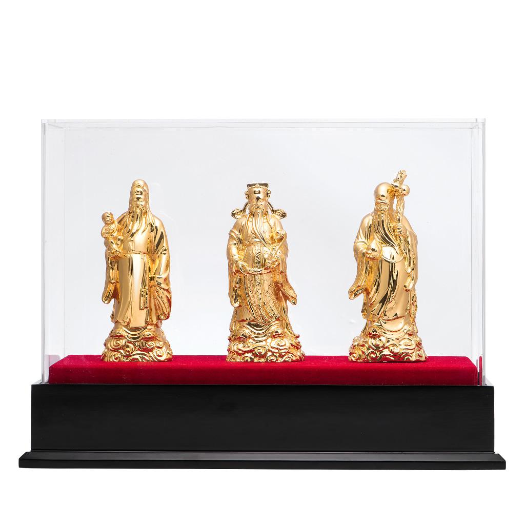 Tượng Vàng Phúc Lộc Thọ PNJ Art Y000011