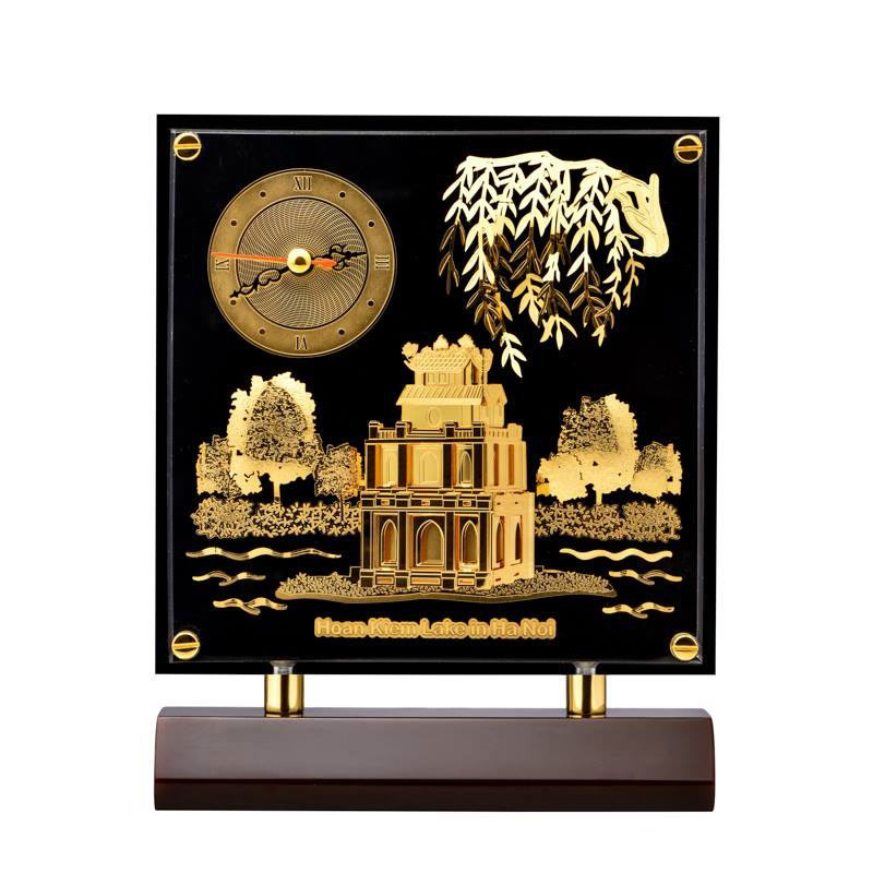 Tranh đồng hồ Hồ Gươm PNJ Art Y060003