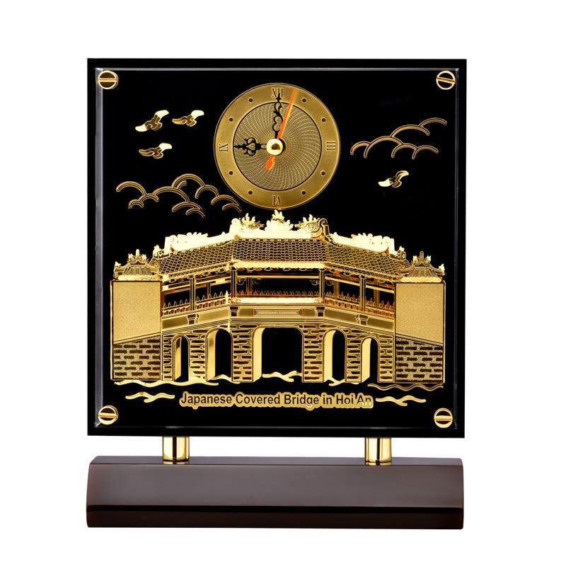 Tranh Đồng Hồ Chùa Cầu PNJ Art Y060000