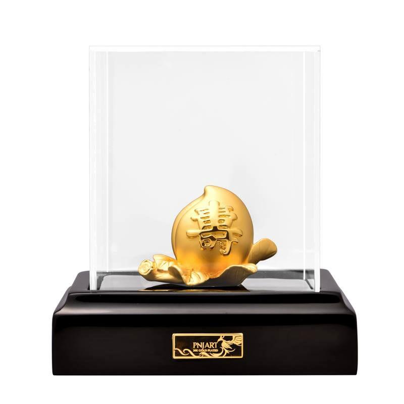 Quả đào tiên mạ vàng PNJ Art TZ0000Y060060.000